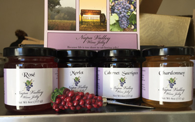 4 Jar Gift Box 4oz Jellies